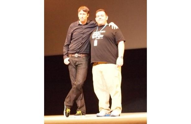 ジョー・コーニッシュ監督と出演のニック・フロストは旧知の仲