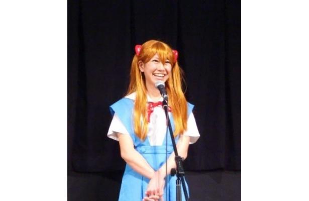 【写真】「舞台あいさつに立っていることが夢」と話す桜 稲垣早希