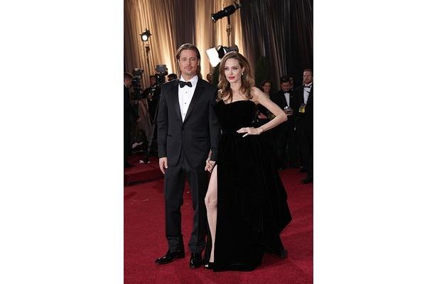 【写真】ドレスから露出した右脚が話題になったアンジェリーナ・ジョリー