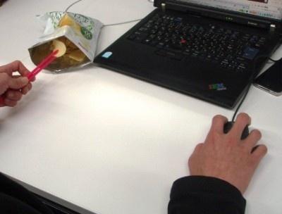 これさえあればキーボードを汚す心配もない