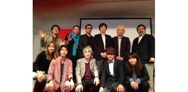 Ustream Asia中川社長や、津田大介さんなど、豪華メンバーが勢ぞろいしました!
