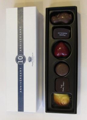 洋スイーツ部門3位は、ピエール マルコリーニ「セレクションボックス(6個入り)」
