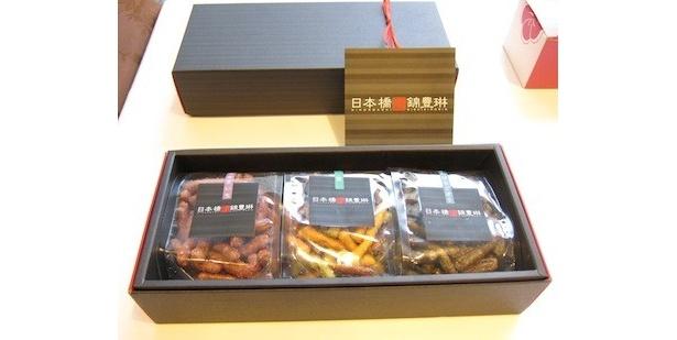 和スイーツ部門1位は、日本橋錦豊琳「かりんとう3個箱」