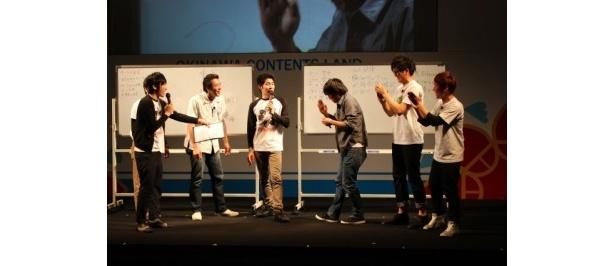 「減災ひろめるステージ」ではフルーツポンチ・村上健志が答えを出せずに責められる一幕も