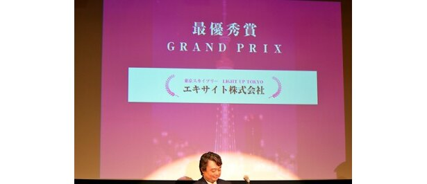 斬新なアイデアが好評を博した最優秀賞アプリ「LIGHT UP TOKYO」