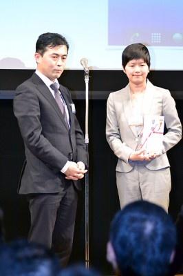 イオン銀行賞アプリ「WAON おトクウィジェット」を開発した神庭幸枝さん