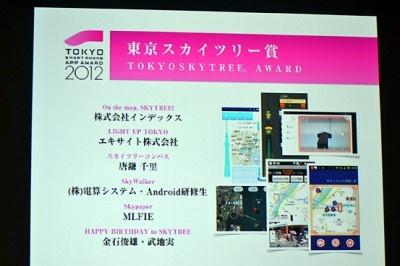 東京スカイツリー賞アプリに輝いた「スカイツリーコンパス」