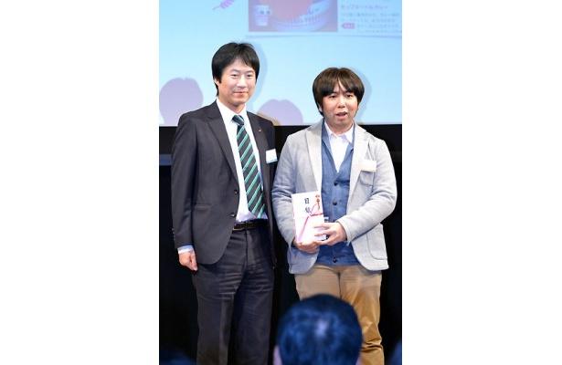 日清食品賞「カップヌードルスケルトンAR」を作成した渡嘉敷守さん