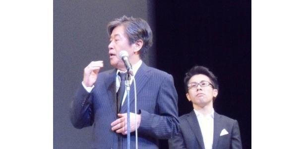 大阪に行くと饒舌になるという風間は「吉本に入りたい!」と笑顔で話した