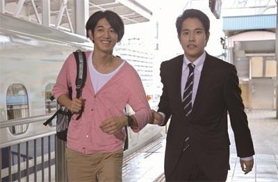小町(松山)と小玉(瑛太)など登場するキャラクターは電車にちなんだものばかり