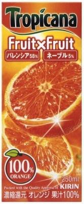 4.14のオレンジデーに「トロピカーナ フルーツ×フルーツ オレンジ」のサンプリングイベントを開催