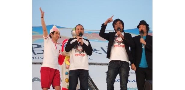 ウチナーンチュ(沖縄の人)のスリムクラブは大人気