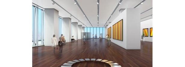 16階の美術館では、国宝級の作品の展示も
