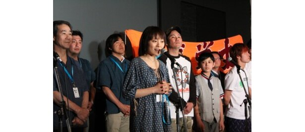 愛知県蒲郡市を描いた「ガマゴリ・ネバーアイランド」の天野監督