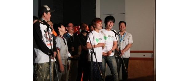 愛知県の地元芸人サムタイムズはチョイ役出演をアピール!