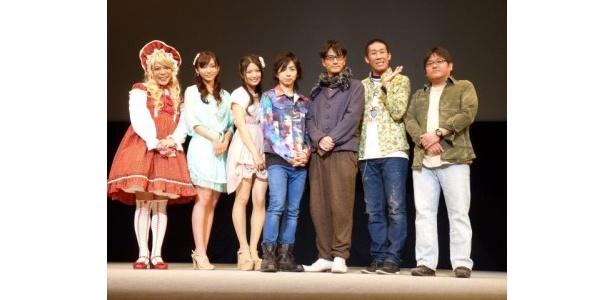 「第4回沖縄国際映画祭」『グラッフリーター刀牙』の舞台あいさつの様子