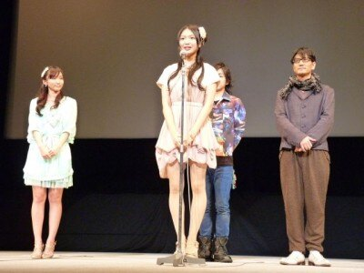 去年は被災地支援のため、AKB48として沖縄国際映画祭に参加した北原
