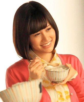 【写真】食いしん坊(!?)な前田敦子さん