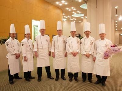 「第23回世界料理オリンピック」に出場する7人のシェフ