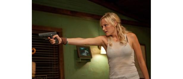 【写真】犯罪組織を牛耳るマフィアのボスの下で働くドラッグディーラーを演じたマリン・アッカーマン