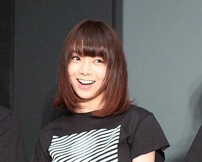 沖縄国際映画祭にて『ユキモノガタリ』の舞台あいさつを行った森カンナ
