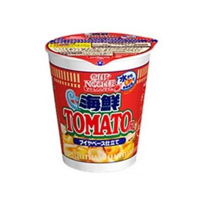 【写真】「カップヌードル マイ・レンジタイム 海鮮トマト風ヌードル」は発売中
