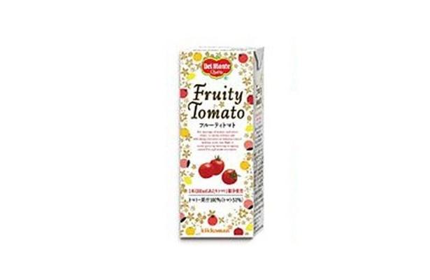 「フルーティトマト」200ml紙パックは発売中