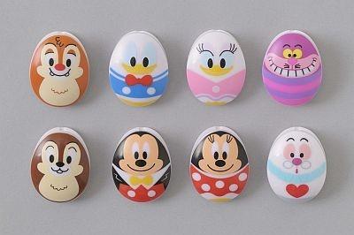 【写真】ミッキーやドナルド、チップ&デールも卵形に変身!クリップセット(880円・8個セット)
