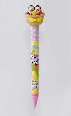 ミッキーとミニーが付いたシャープペン(750円)