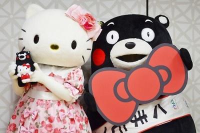 【写真】ハローキティ×くまモンのコラボグッズも続々発売予定!