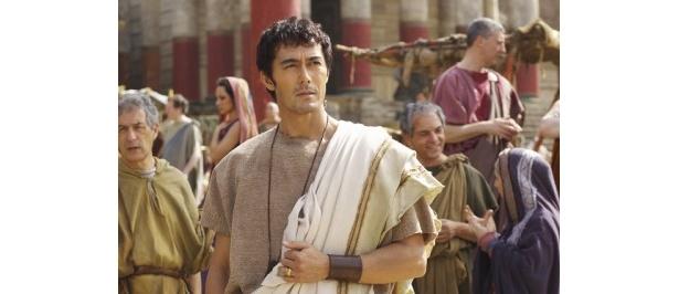 【写真】古代ローマ人のルシウスを演じる阿部寛。上戸彩は「現地のローマ人よりも濃かった」と阿部の濃い顔を絶賛