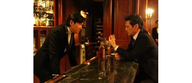 「クルマのふたりスペシャル めぐりあう時間」に出演の別所哲也と加藤雅也(写真左から)