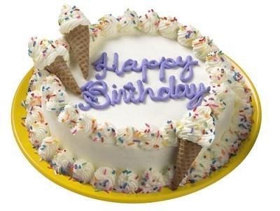 バースデーケーキにもばっちり!