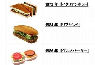【画像】候補バーガーの一覧。ネットで復活を望む声多数の「イタリアンホット」が再び食べられるかも!?