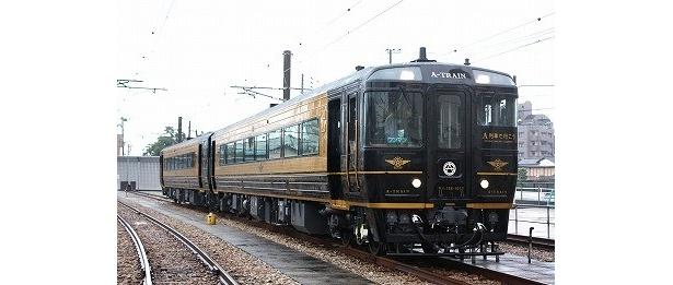 【写真】熊本~三角を走る人気観光列車「A列車で行こう」