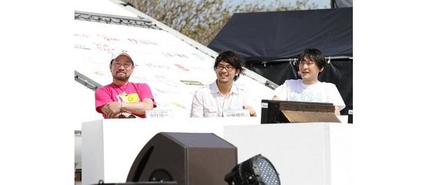 審査委員には木村祐一、小泉徳宏、中村洋基が登場した