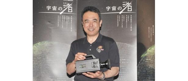 プレゼンターを務める古川聡宇宙飛行士