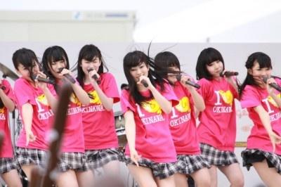 NMB48ライブの様子
