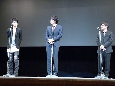 林、徳井、熊切の3ショット