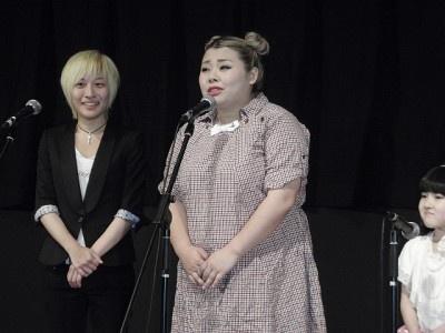 初主演をつとめた自身の演技について満足気に話す渡辺直美