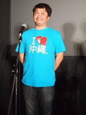 【写真】お得意(?)の変顔で登場した山崎
