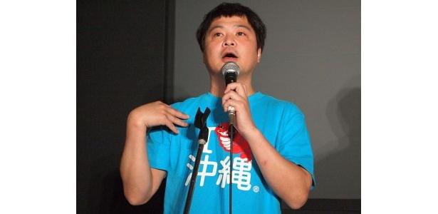 ドキュメンタリー作品についての熱い思いを語った山崎