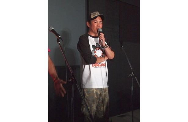 川田は「被災地のことを忘れないで欲しい」と映画を見る観客へ語りかけた