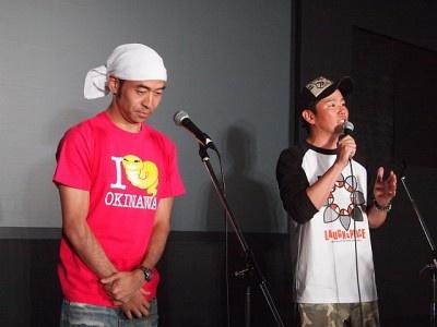 「『苦しい時こそ笑え』の言葉を思い出した」と語る川田の言葉に会場中がうなずいた