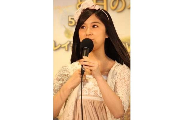 AKB48時代には、ディズニー映画『ティンカー・ベルと月の石』ブルーレイ&DVDの発売記念イベントに登場した