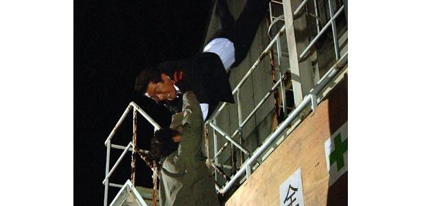 60歳越えで現役バリバリの倉田ワイヤーアクション