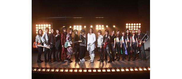 RIDER CHIPS、Project.R、仮面ライダーGIRLSたちが集結して熱く歌った!