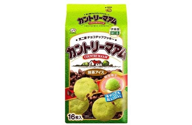 【写真】「カントリーマアム(抹茶アイス)」(315円)