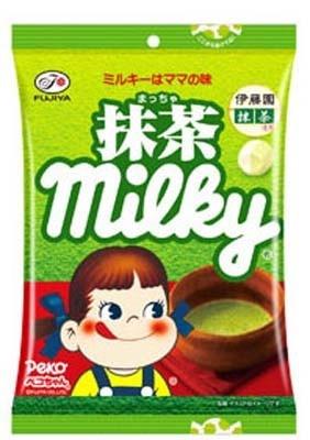 「抹茶ミルキー袋」(210円)