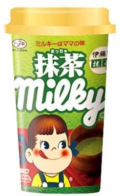 「抹茶ミルキー」(158円)